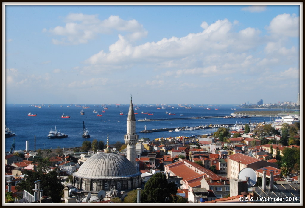 Istambul harbour