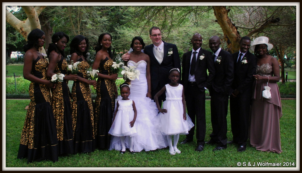 Wedding in Zambia