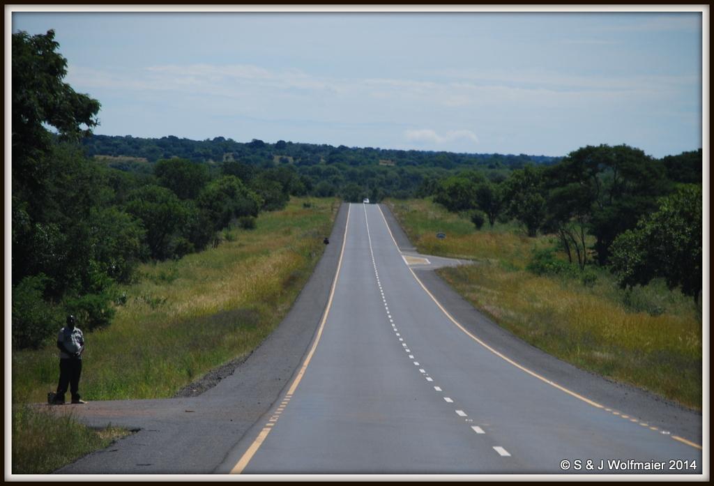 Zambian road