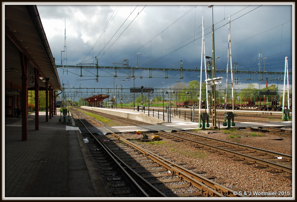 Railway station of Kil