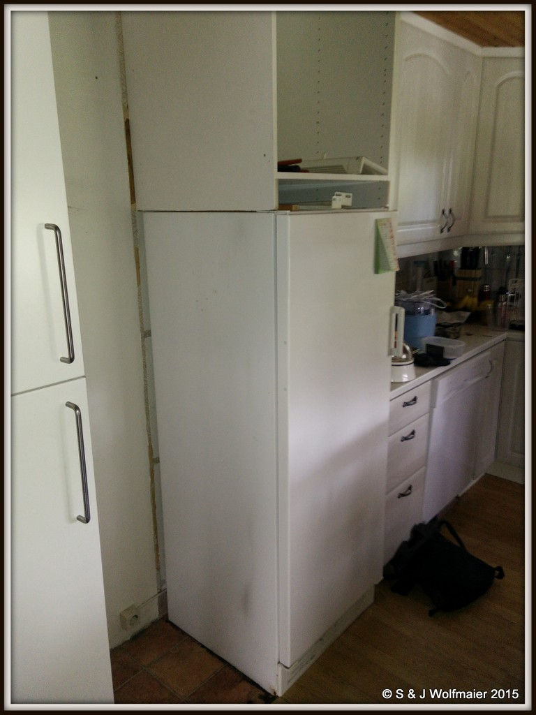 New fridge and freezer