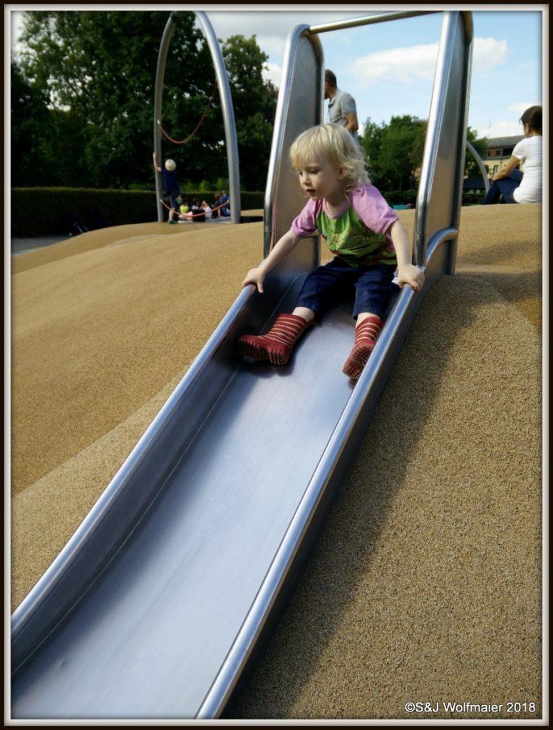 Playground in Lund