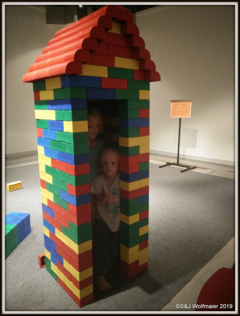 Large LEGO house